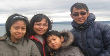 David Bala and family